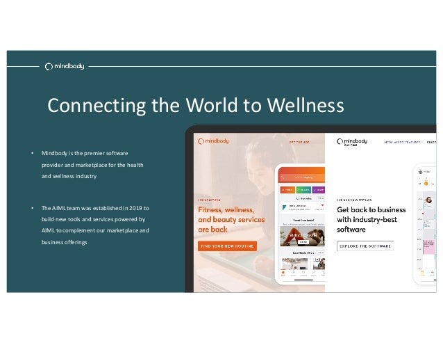 Productionizing Machine Learning in Our Health and Wellness Marketplace Slide 3