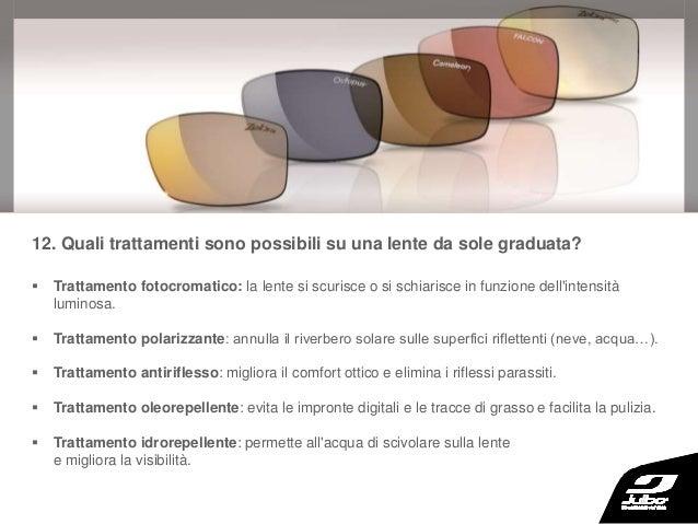 prestazioni superiori nuove immagini di stili di grande varietà Occhiali da sole graduati