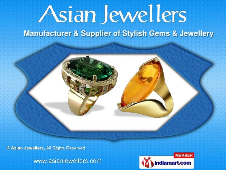 Manufacturer & Supplier of Stylish Gems & Jewellery