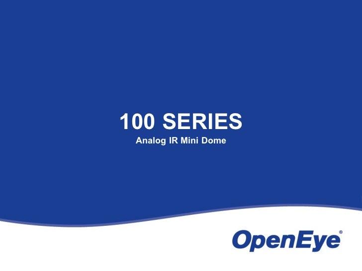 OpenEye Optix Camera Overview Slide 3