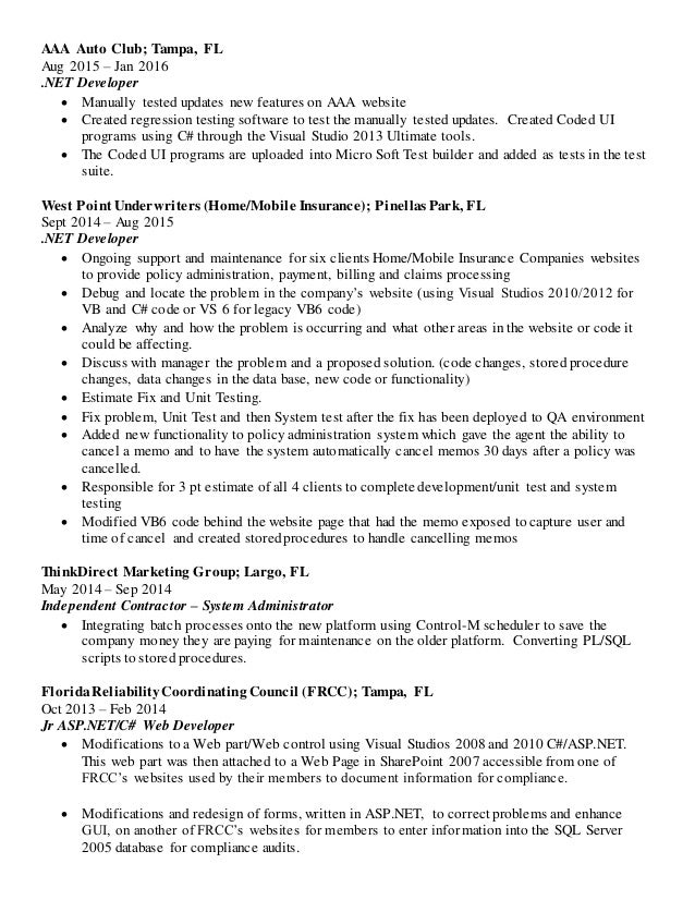 Full Resume 2016