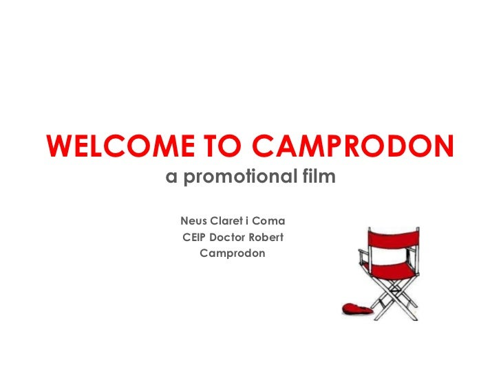 WELCOME TO CAMPRODON a promotional film Neus Claret i Coma CEIP Doctor Robert Camprodon