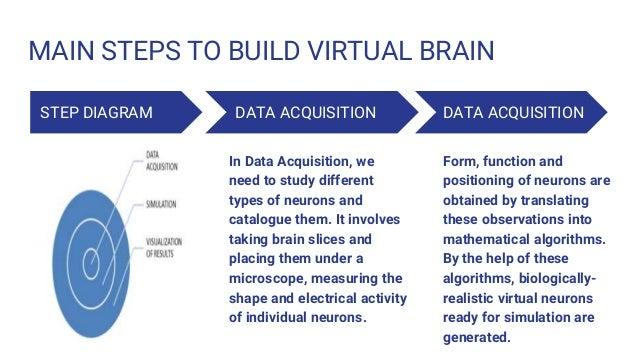 Bluebrain 8 main steps to build virtual brain step diagram ccuart Choice Image