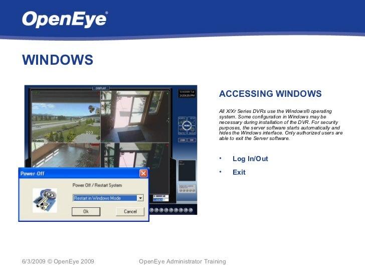 WINDOWS                                                     ACCESSING WINDOWS                                             ...