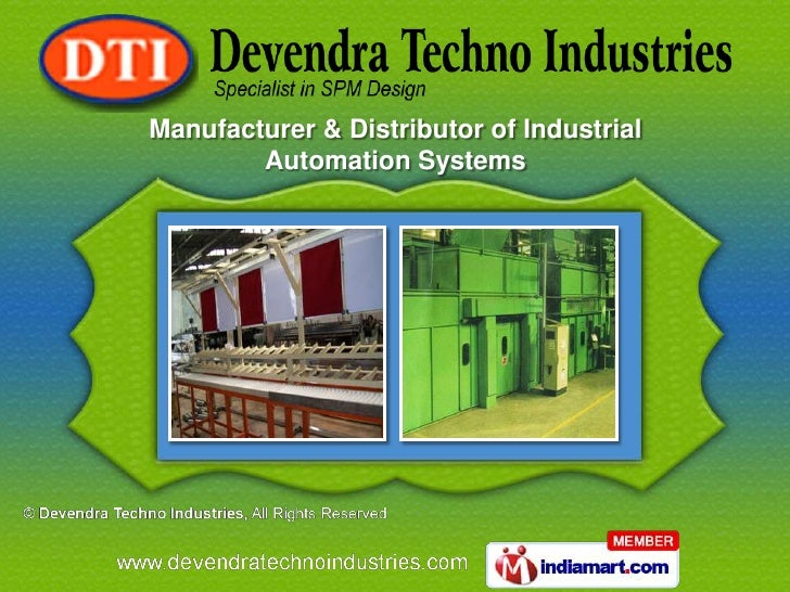 Manufacturer & Distributor of Industrial        Automation Systems