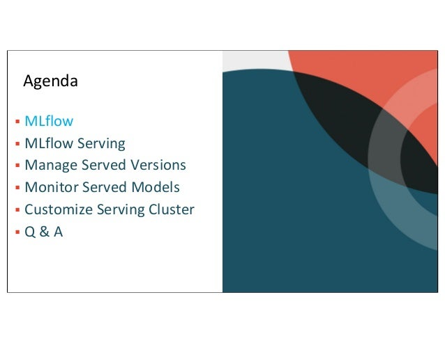 Productionzing ML Model Using MLflow Model Serving Slide 3