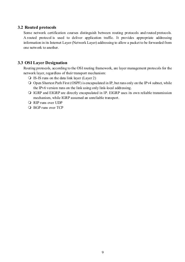 Ccna report for Exterior gateway protocol examples