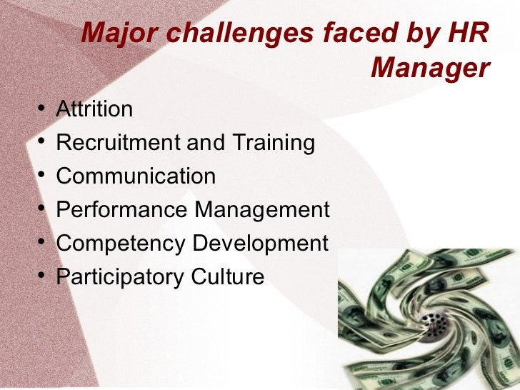 Challenges faced by hr management when