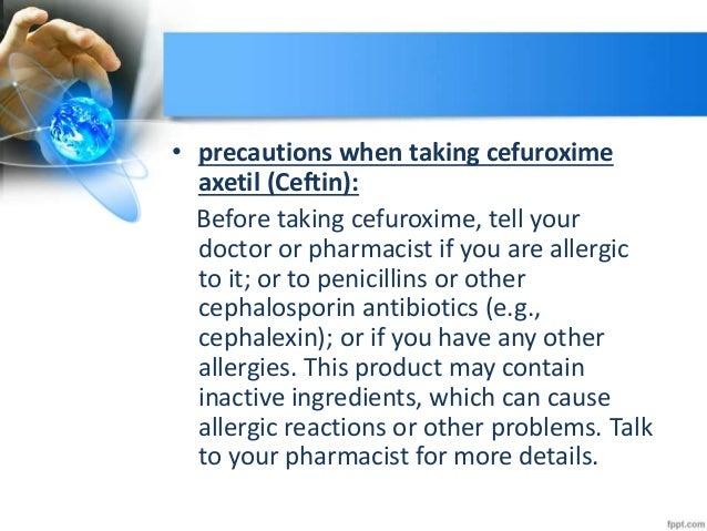 Cefuroxime Antibiotic Spectrum