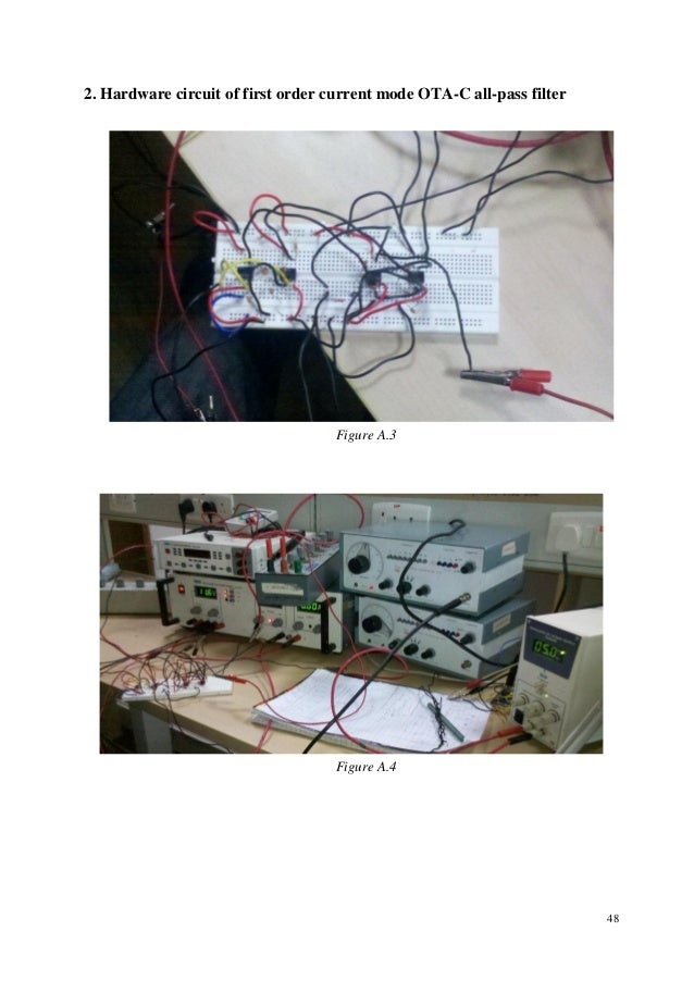 implementation of active filter using ota The circuit is attractive for vlsi implementation active and passive electronic components is an international peer-reviewed programmable ota-based multifunction active filter abdulrahman khalaf al-ali.