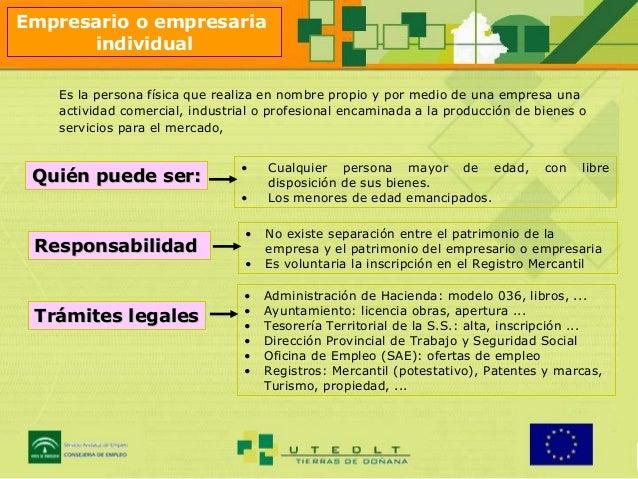 El empleo y el autoempleo for Diferencia entre licencia de apertura y licencia de actividad