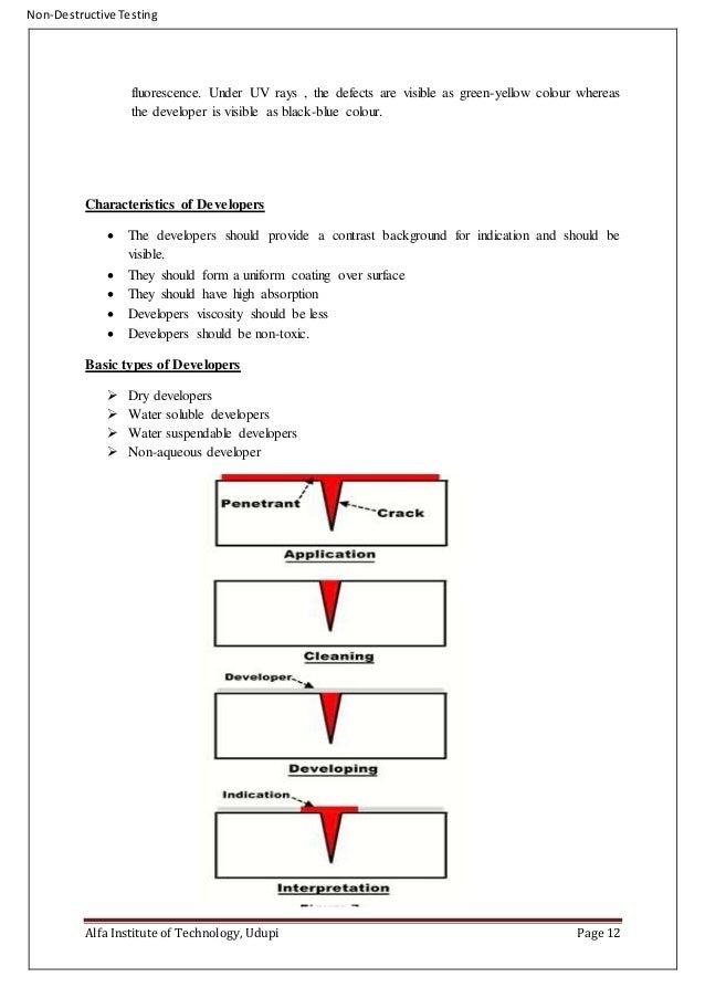 penetrant testing procedure pdf