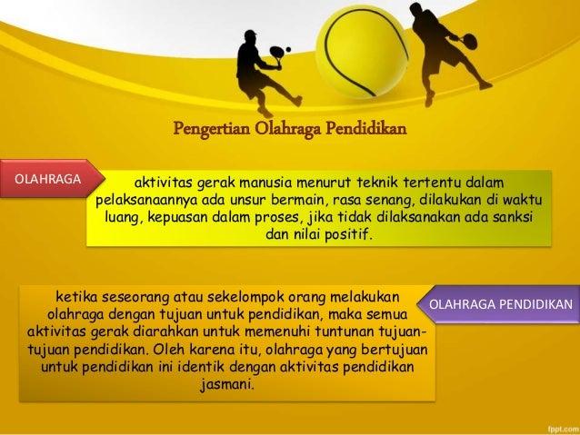 Olahraga Pendidikan