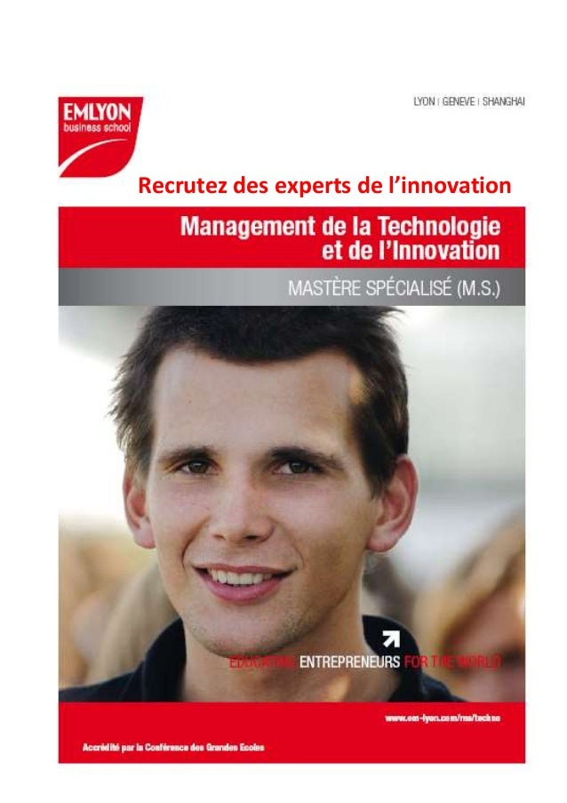 Recrutez des experts de l'innovation