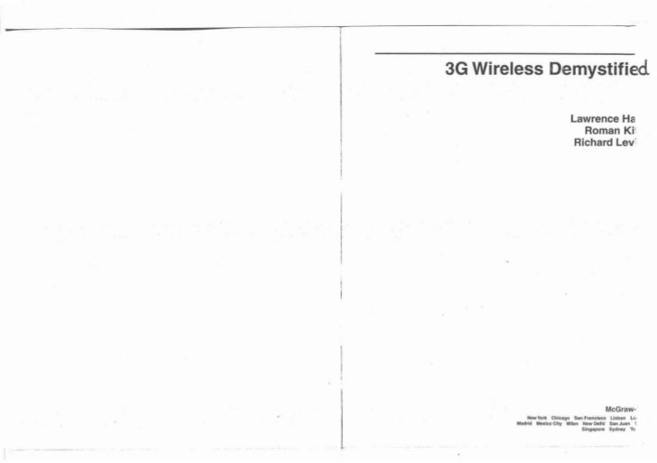 ied3G Wireless ~emystif                          Lawrence Ha                             Roman Ki-i                       ...