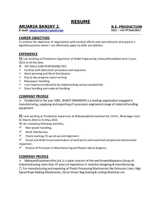 ... Resumes Objectives Examples For Mechanical Engineering Mechanical  Engineering. Career Objective For Production Engineer