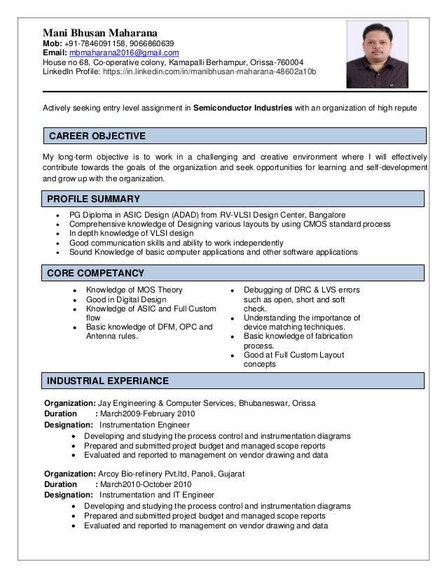 asic design engineer resumeasic design engineer resume