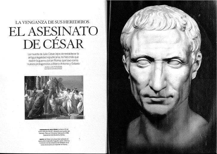ASESINATO DE JULIO CESAR-2