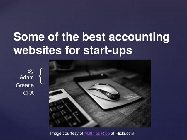 Some of the best accounting websites for start-ups