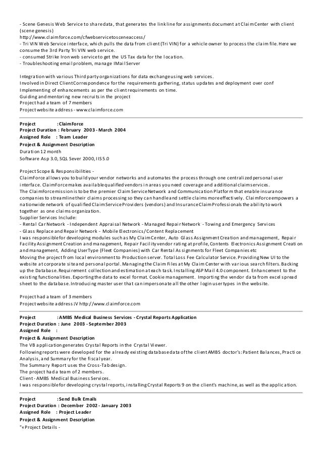 dot net resume sample - Yelom.myphonecompany.co