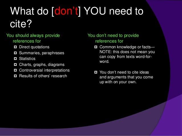 how to write a seminar