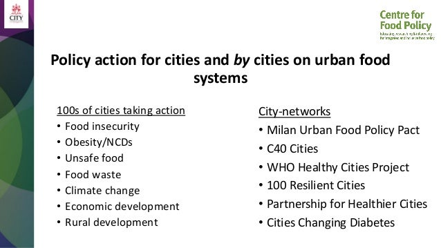 How to Build Urban Food Systems for Better Diets, Nutrition, and Health: A Policy Perspective Slide 2