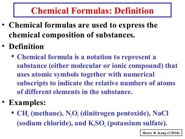 Gc S009 Substances