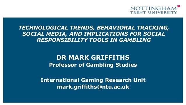 Mark griffiths professor of gambling studies at nottingham trent university grand casino hinckley hotel reservations