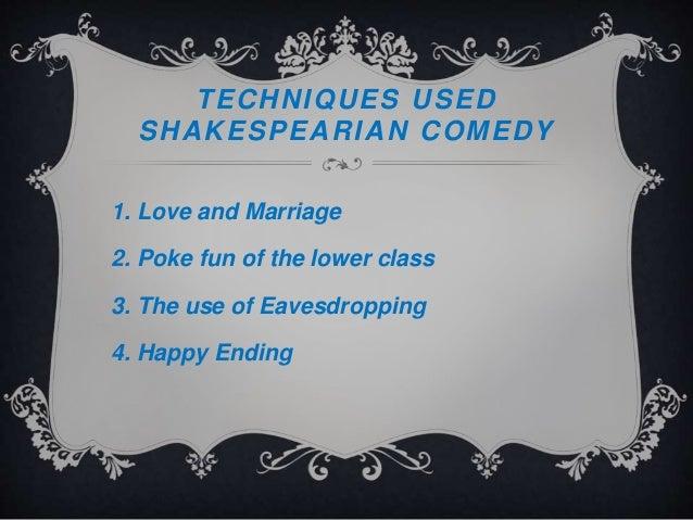comedy techniques in film