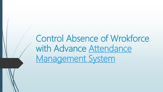 attendance management helping to increase business productivity