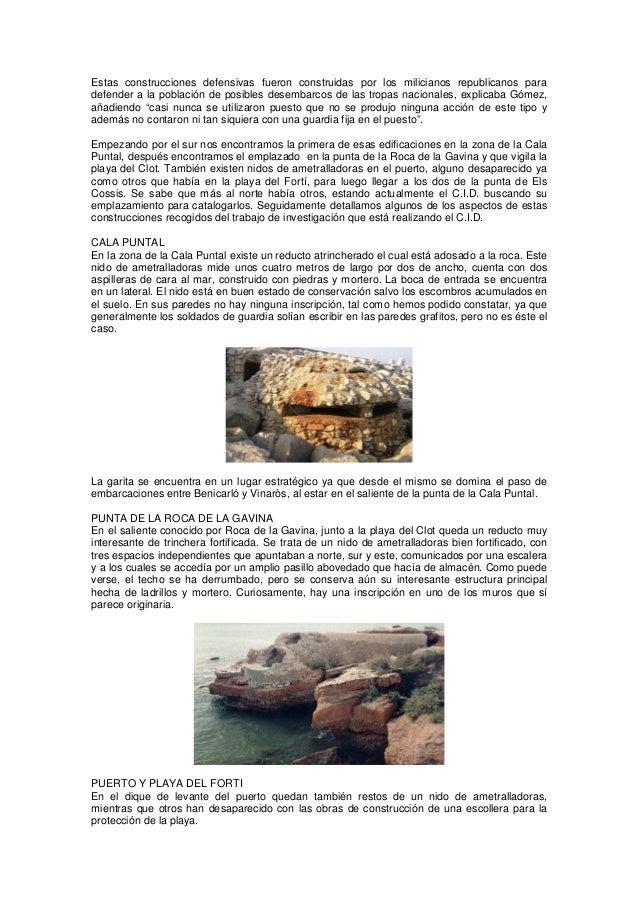 29 nidos de ametralladoras en la costa de vinaros Slide 2