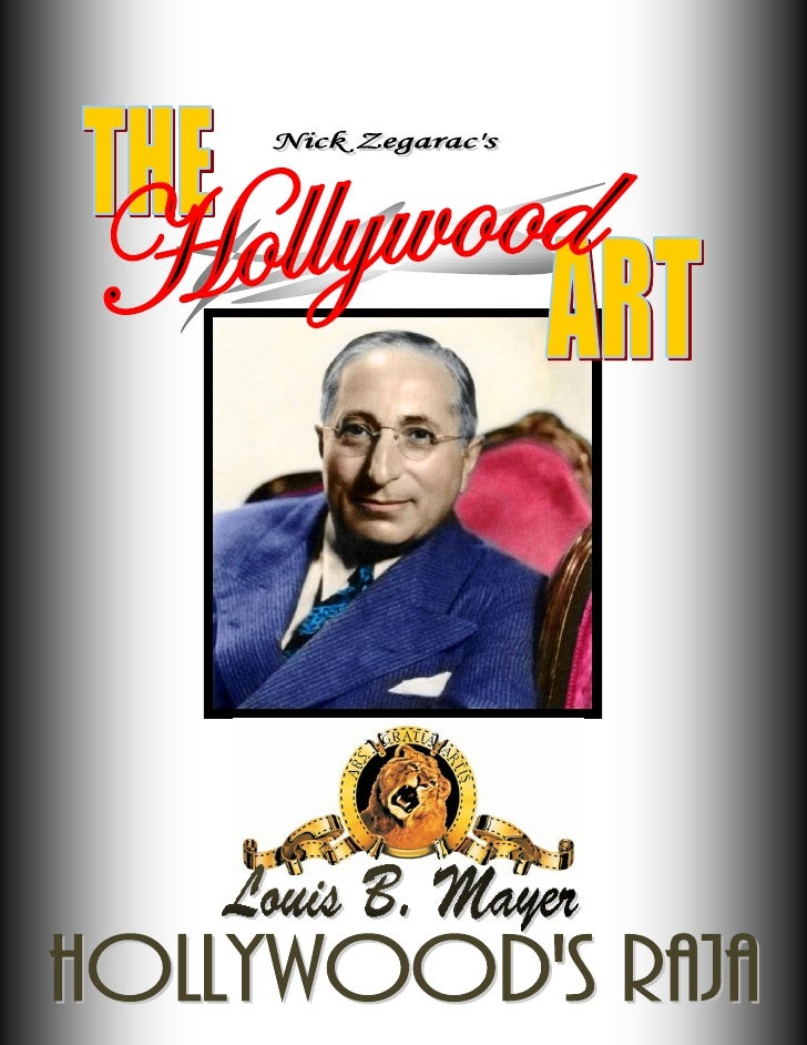 "MEN OF VISION: Louis B. Mayer and the Dream Factory that Was                         ""He was the most honest man I ever me..."