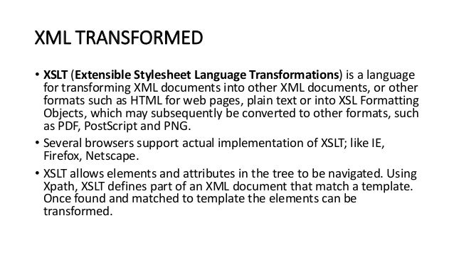 transforming-xml-using-xsl-and-xslt-5-638 Xslt Format Example on examples node, template match parent node, escaping percent symbol, variable csv double quote string, formating internet explorer, table formatting, display example, notes dxl table, nested templates local scope, xml xhtml xsd xpath xquery, element sheet,