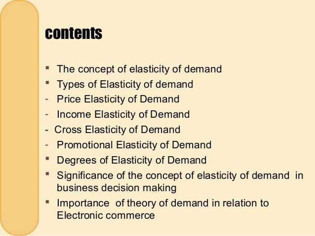 different types of elasticity of demand And what are the different types of elasticity of demand update cancel  price elasticity demand is defined as the ratio of percentage change in quantity demanded.