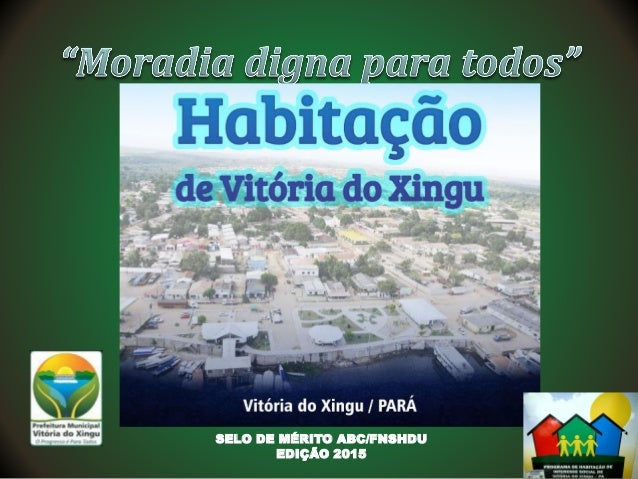 SELO DE MÉRITO ABC/FNSHDU EDIÇÃO 2015