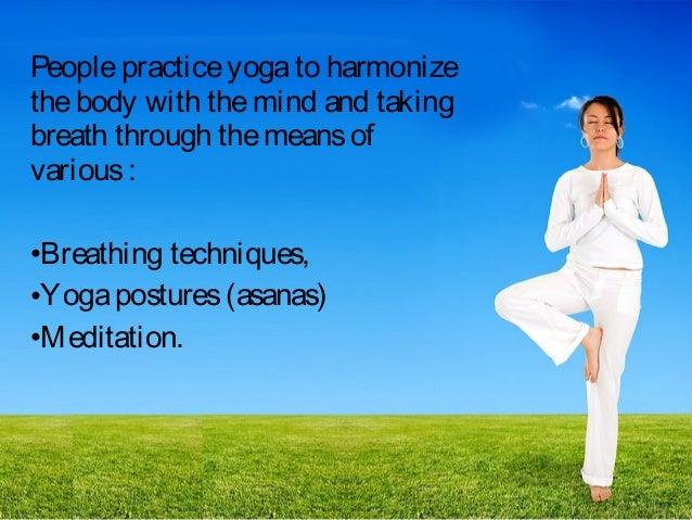 Yoga Presentation Slide 3
