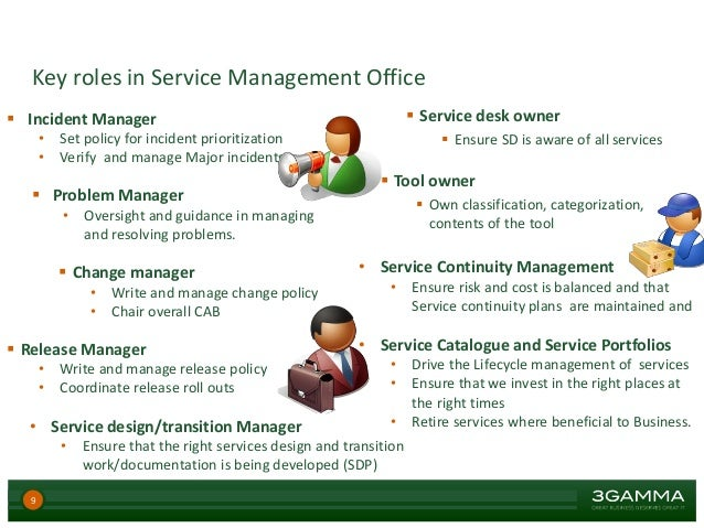 Service management office - Role of office manager in an organization ...