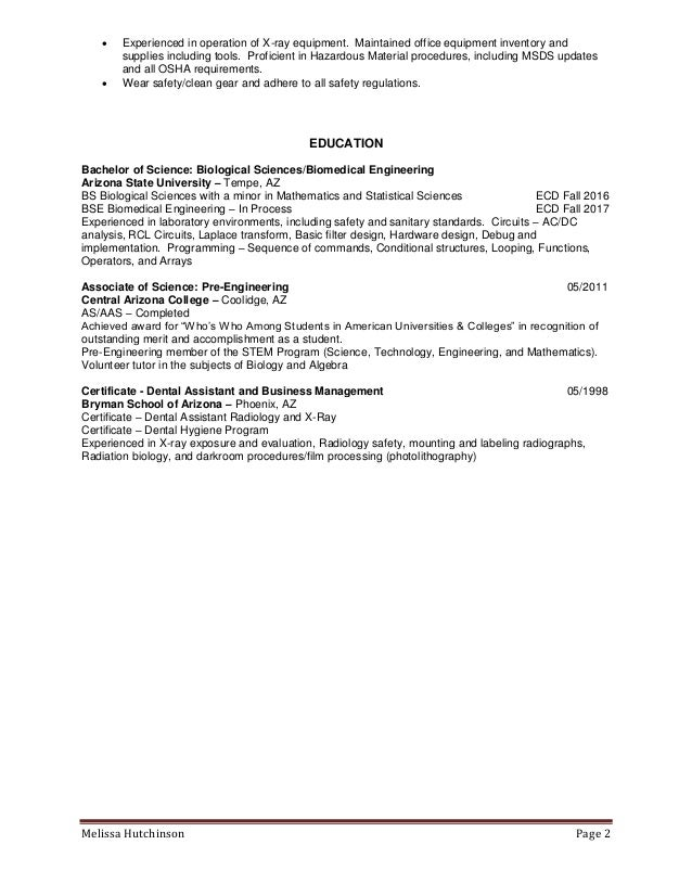 Melissa Hutchinson Resume 2016-external