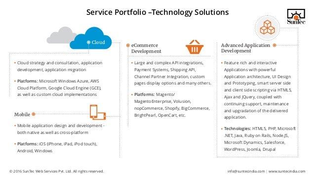 SunTec India Corporate Presentation: Enhance Your Business