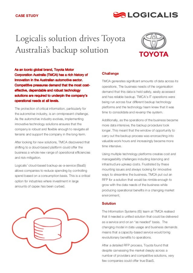 As an iconic global brand, Toyota Motor Corporation Australia (TMCA) has a rich history of innovation in the Australian au...