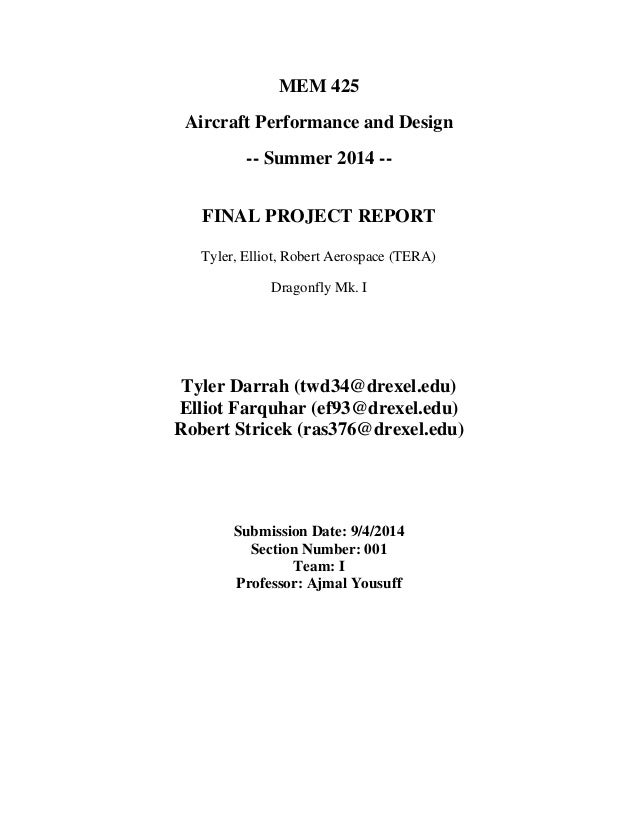 report on aircraft design project Chapter 4 aircraft basic construction introduction naval aircraft are built to meet certain specified requirements these requirements must be selected so.