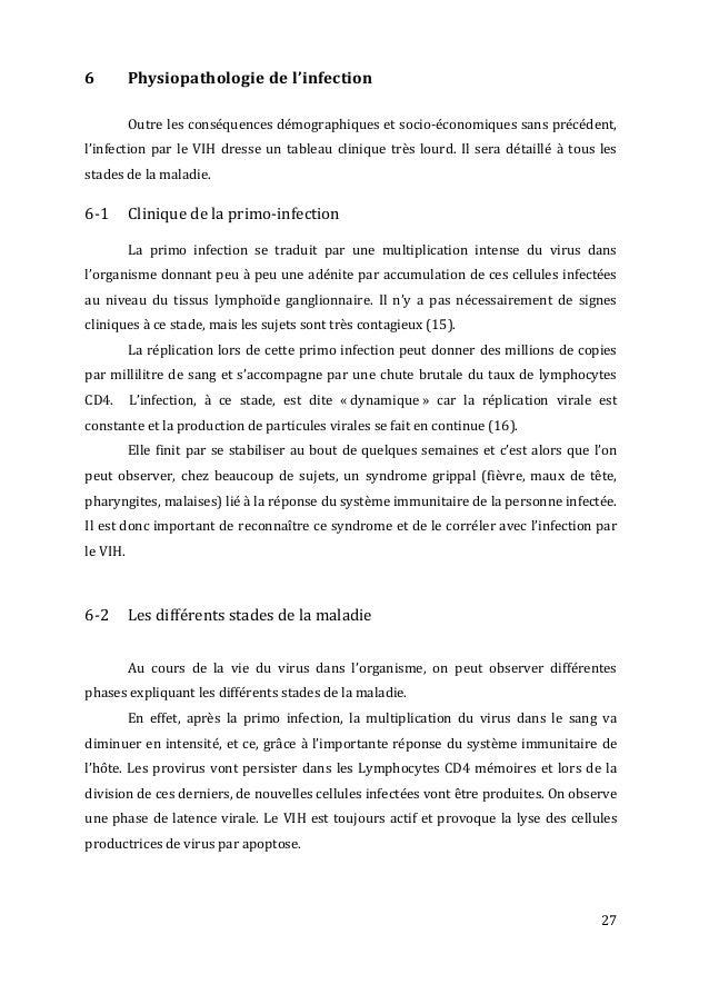 27   6   Physiopathologie  de  l'infection      Outre  les  conséquences  démographiques  et  ...