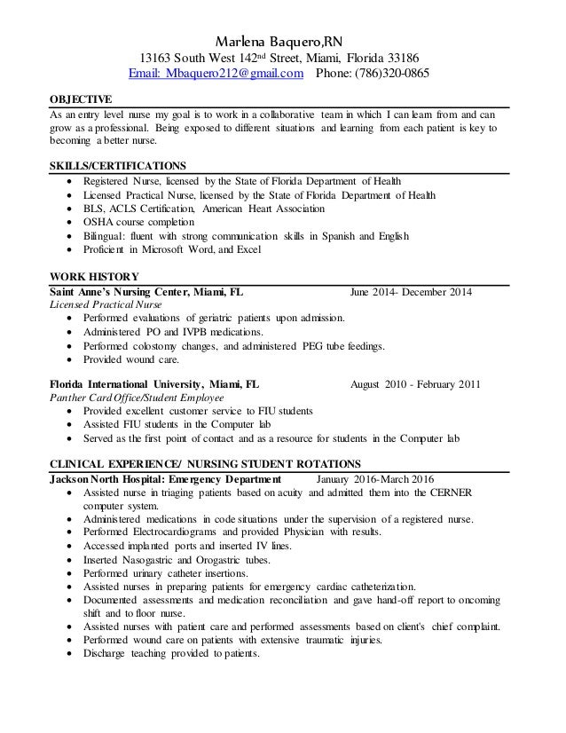 Rn Resume Final Version