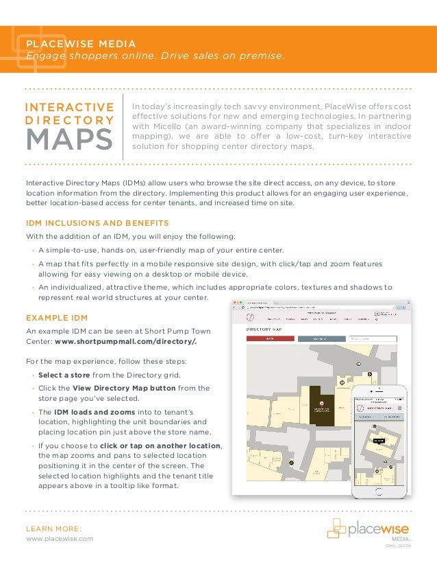 Interactive-Directory-Map_SellSheet Short Pump Mall Map on pheasant lane mall map, westfield brandon mall map, south hill mall map, carolina place mall map, montgomery mall map, jefferson mall map, chicago ridge mall map, fashion fair mall map, west town mall map, cool springs mall map, edison mall map, fashion square mall map, broward mall map, north east mall map, providence place mall map, washington mall map, parks mall map, north point mall map, maine mall map, southridge mall map,