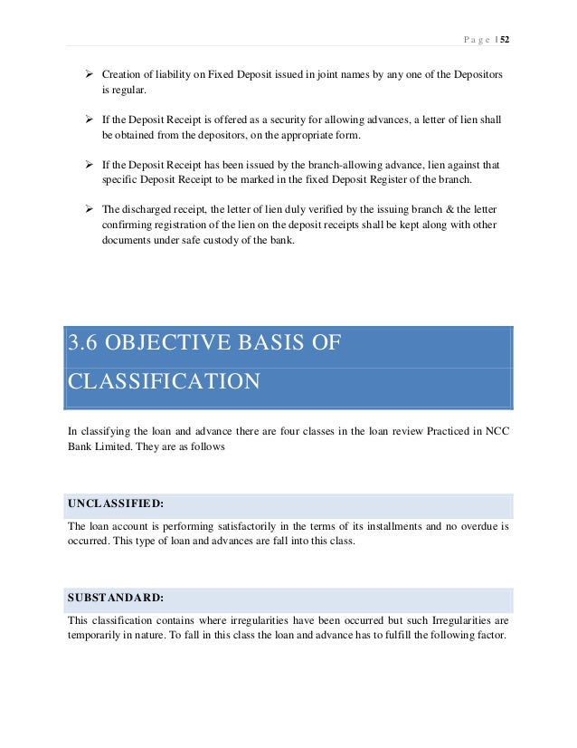"""report on ncc bank Free essay: [financial perfomance of ] ncc bank ltd 10: introduction 11: origin of the report for this requirement of """"management of financial."""