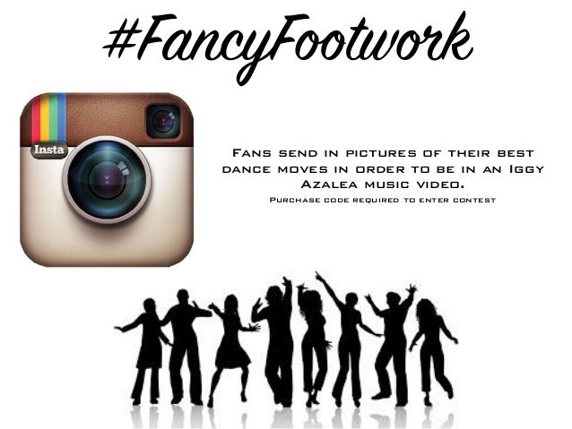 #FancyFootwork Fans send in pictures of their best dance moves in order to be in an Iggy Azalea music video. Purchase code...