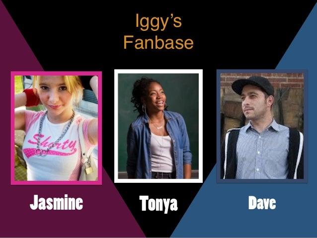 Iggy's Fanbase Jasmine Tonya Dave