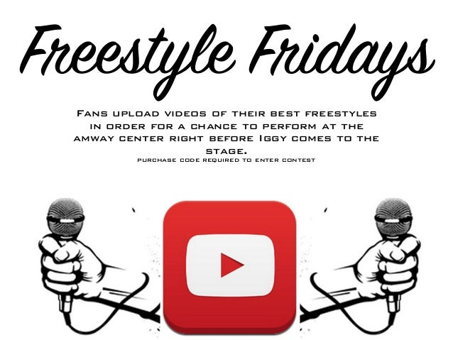 Freestyle Fridays Fans upload videos of their best freestyles in order for a chance to perform at the amway center right b...