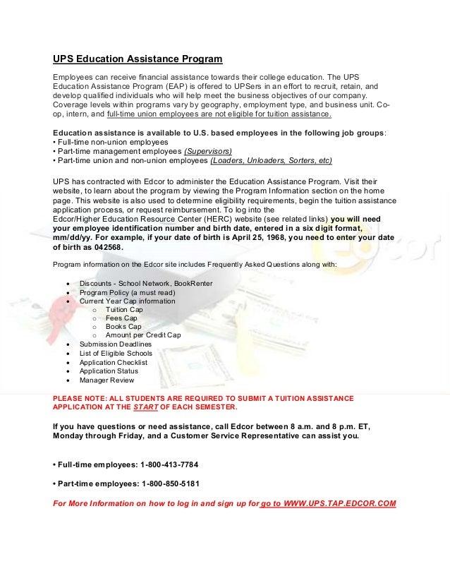 Union Assist Program