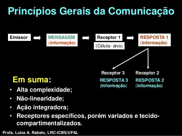 Princípios Gerais da Comunicação   Emissor            MENSAGEM          Receptor 1           RESPOSTA 1                   ...